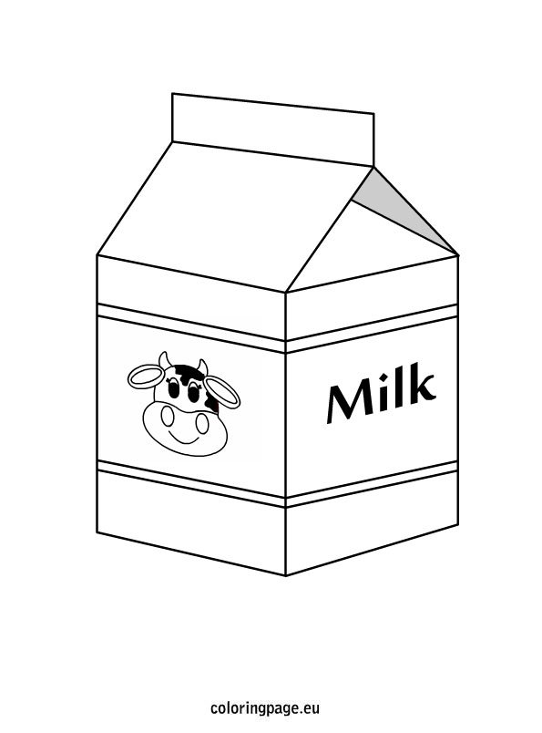 dairy coloring pages - photo#15
