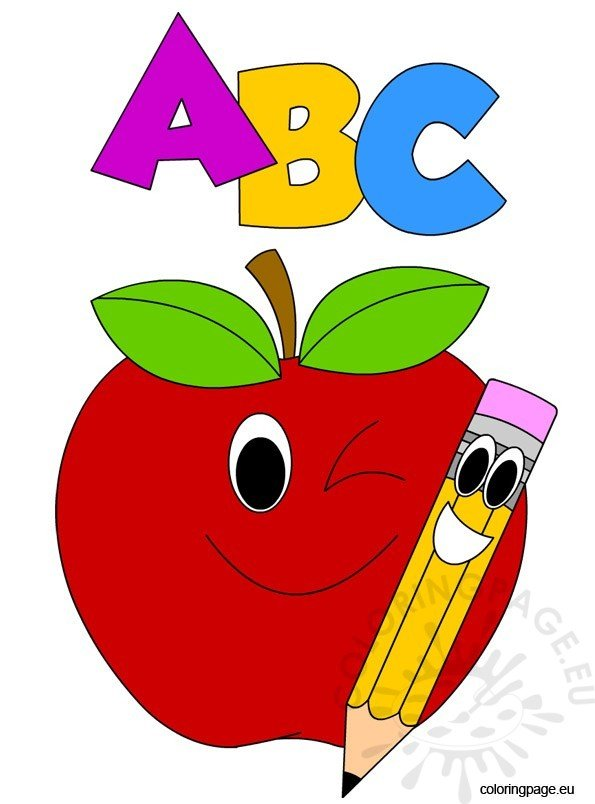 abc-apple-and-pencil
