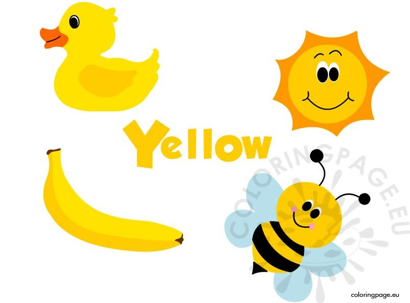 Yellow Clipart images