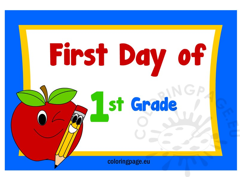 first-day-of-1st-grade