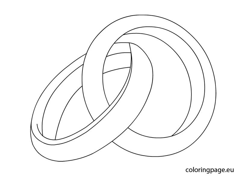 Trouwringen Kleurplaat Uncategorized Coloring Page