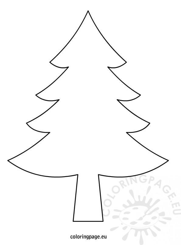 christmas-tree-drawing
