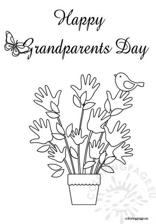 Grandparent 39 s Day Coloring Page