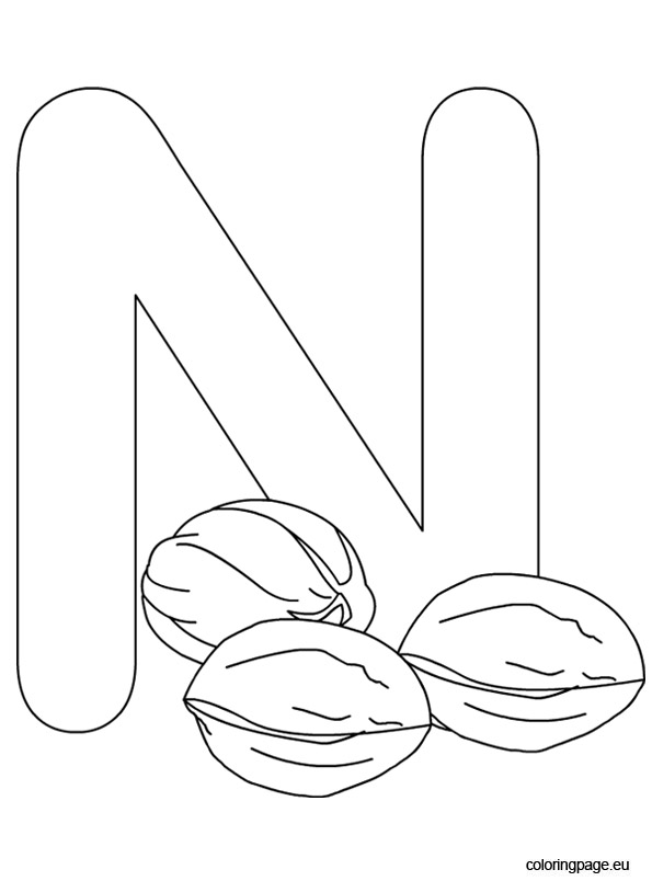 n coloring pages - photo #26