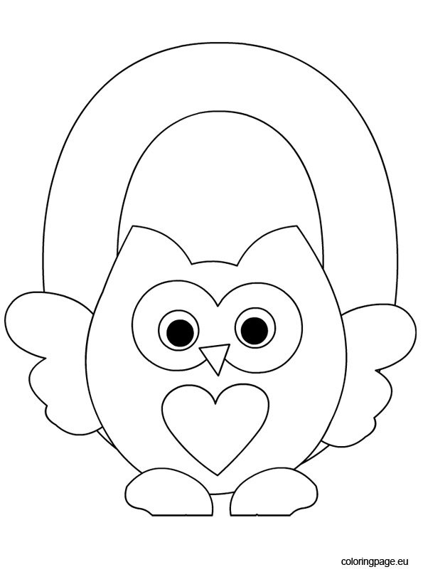 Small Letter O Coloring Coloring Pages
