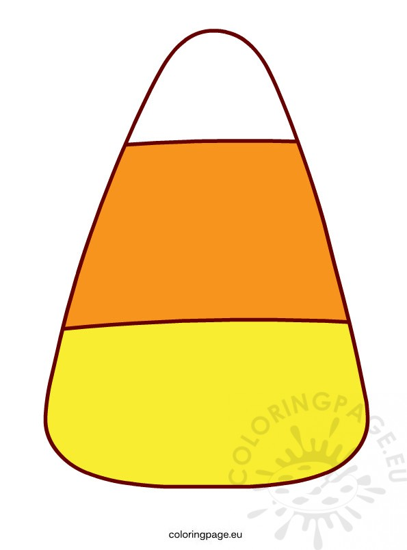 candy corn coloring pages - photo#40