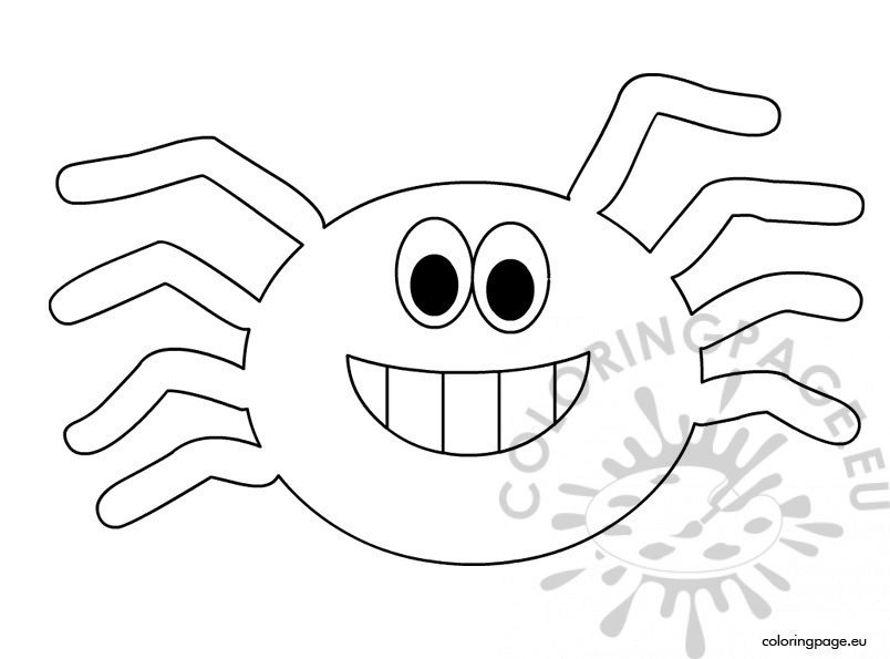 printable halloween spider coloring pages - photo#17
