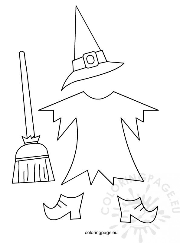 witches shoes coloring pages - photo#31