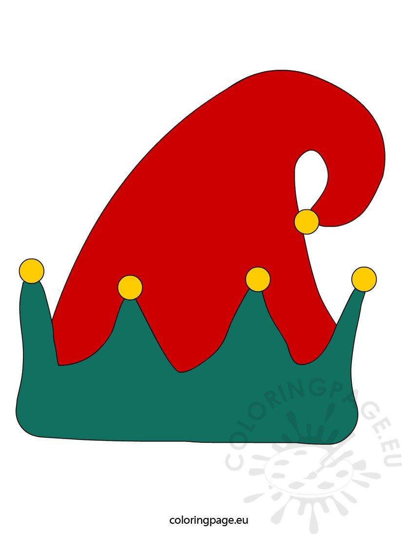 Christmas Elves Hat Clip Art Cliparts