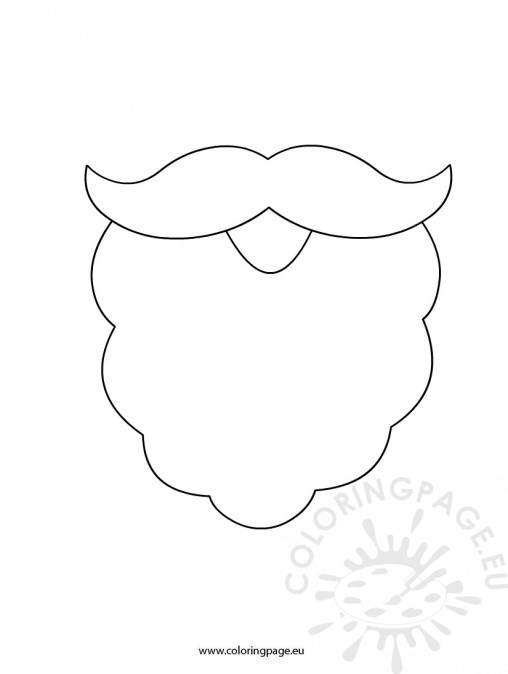 santa beard template printable Car Tuning