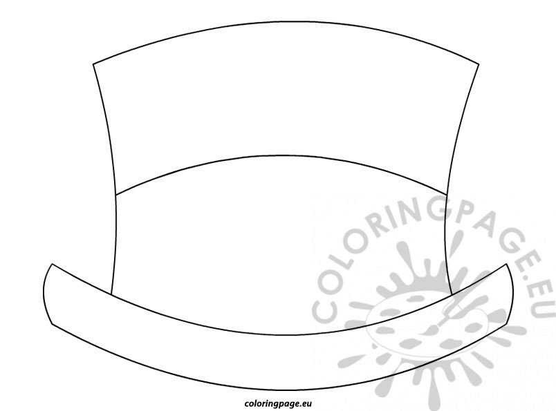 Top hat template for kids kids for Top hat template for kids