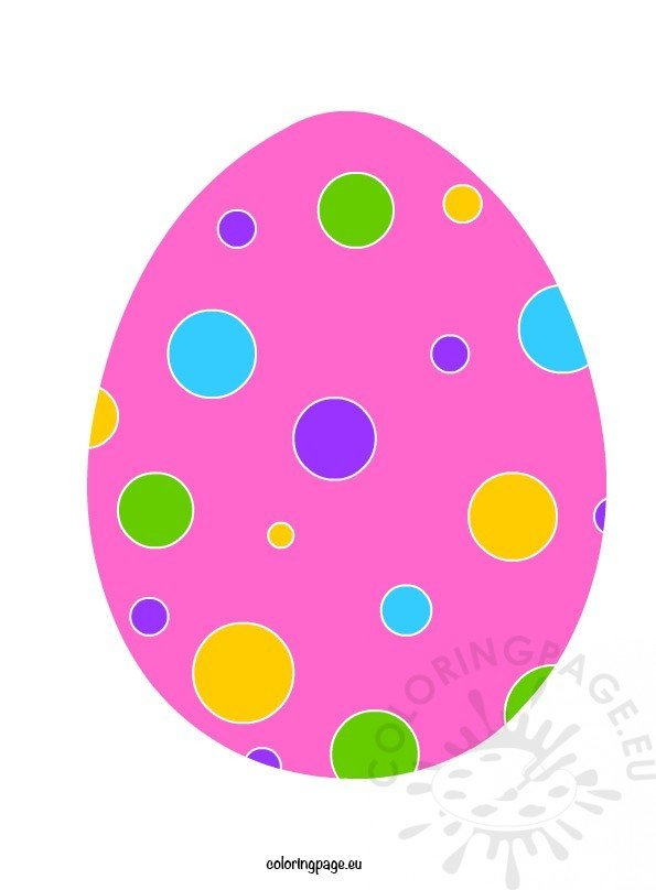 photo about Printable Easter Egg identify Printable Easter Egg Coloring Webpage
