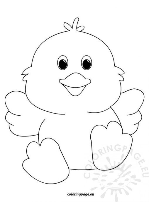easter chicks coloring pages - photo#14