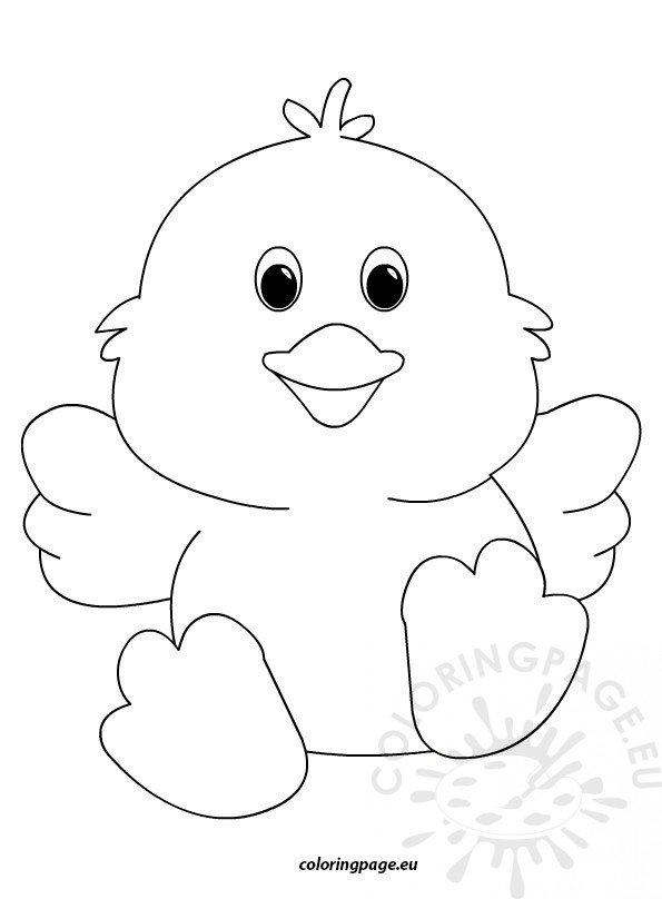 easter chicks coloring pages - photo#26