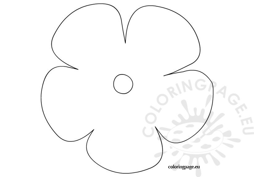 big flower coloring pages - photo#15