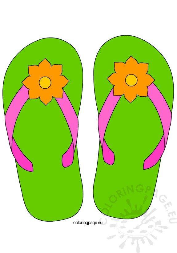 flower-flip-flops