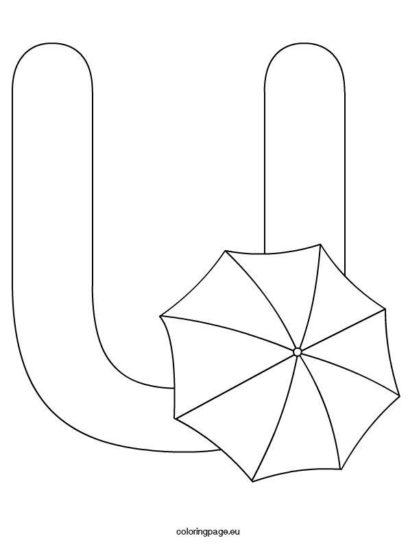 alphabet-letter-u