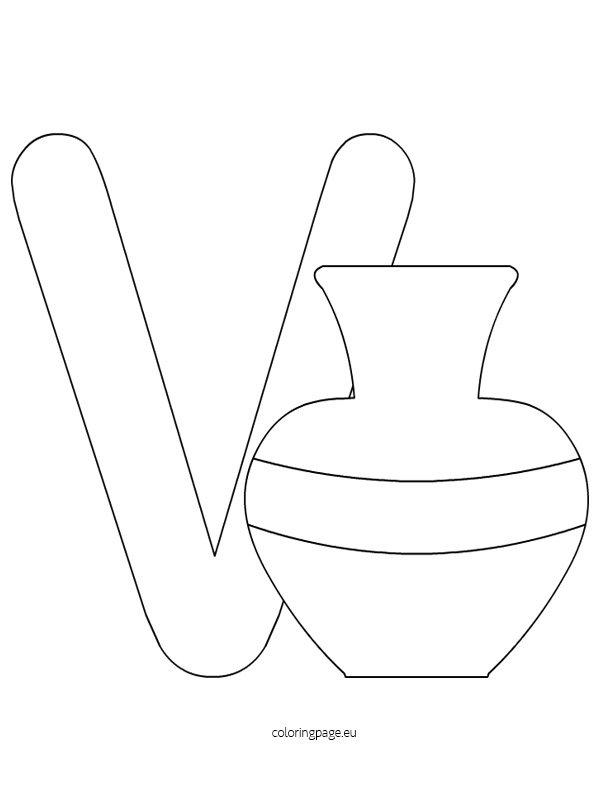 alphabet-letter-v