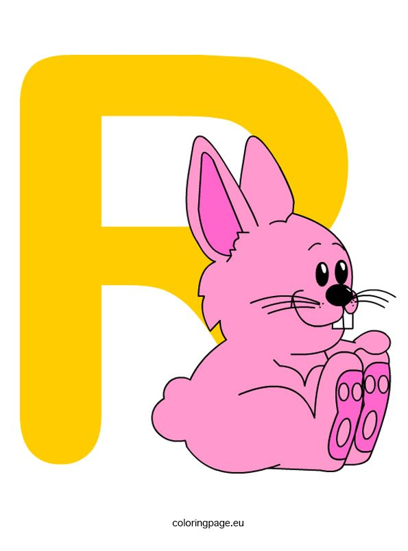 Alphabet Letter R Coloring Page Animal Alphabet Letters Coloring Pages Coloring