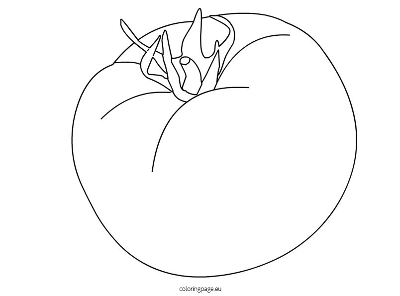 coloring pages tomatoes - photo#11