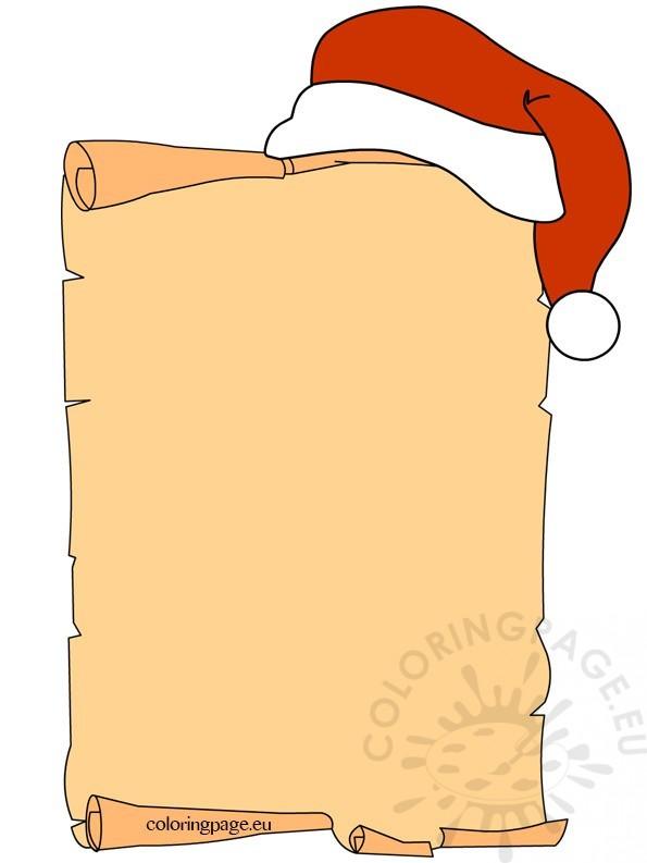 letter-christmas-hat