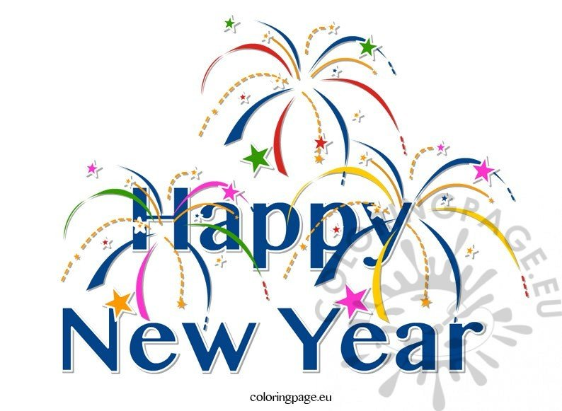 Perfect Clipart Happy New Year
