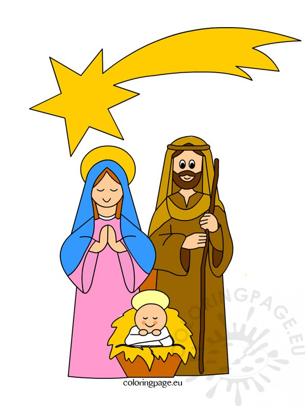Clipart Nativity for kids