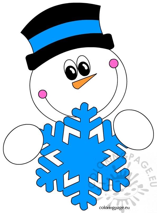 snowman-snowflake2