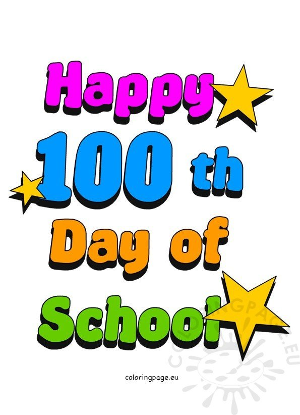 100th day of school clip art coloring page rh coloringpage eu 100th day of school clipart free 100th day of school clipart free