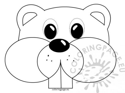 groundhog day coloring page groundhog day coloring page - Groundhog Coloring Page