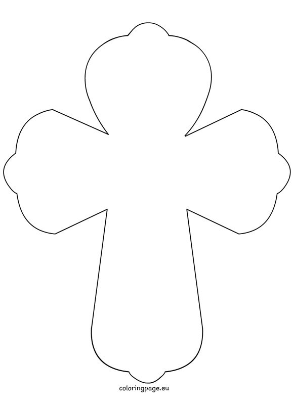 Printable Cross Picture
