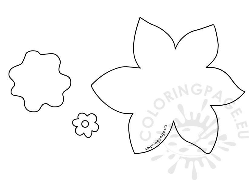 template of a daffodil spring crafts beautiful daffodil coloring page