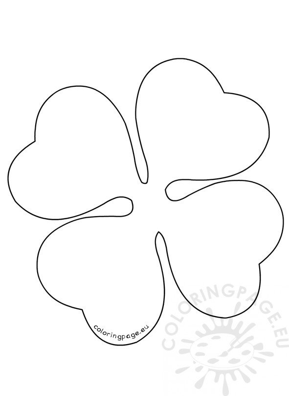 four-leaf-clover-pattern