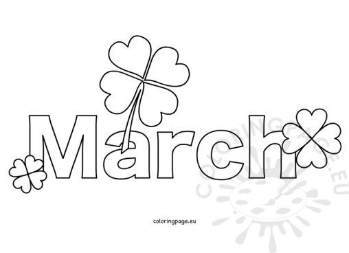 Free Month Clip Art �... Flower Design Coloring Pages