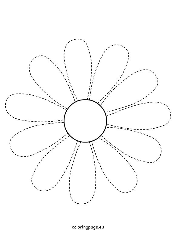 Daisy cut out template images for Daisy cut out template