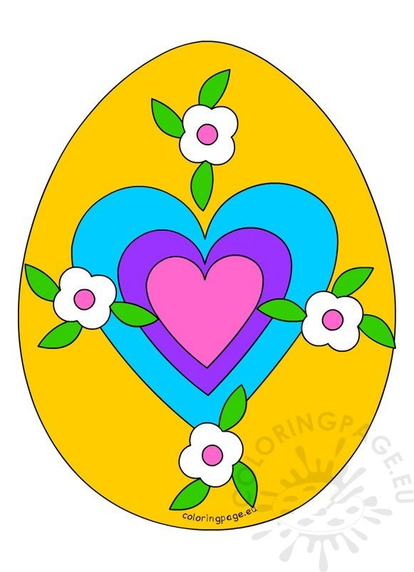 Easter Egg Cut Outs