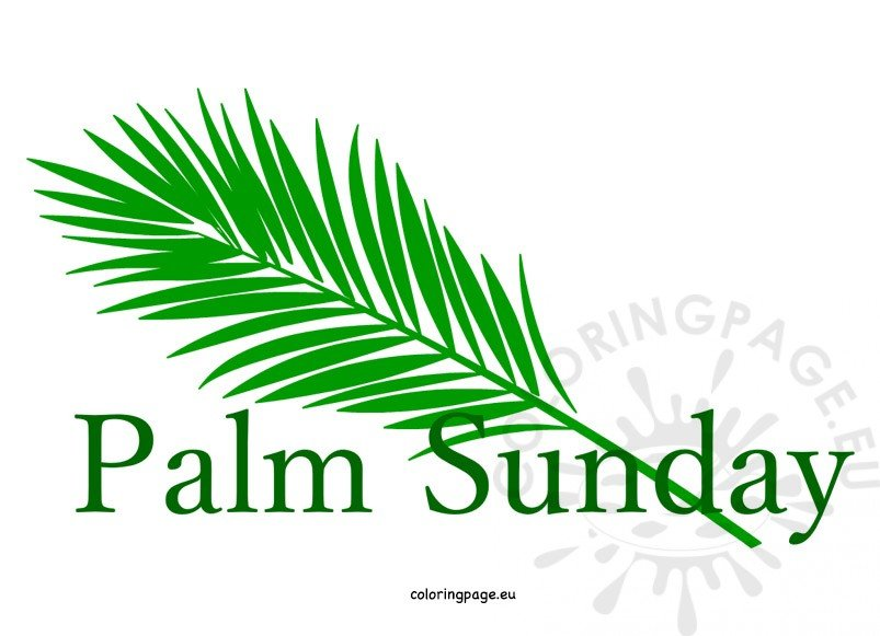 easter palm sunday clipart coloring page rh coloringpage eu free clipart images for palm sunday free clipart images for palm sunday