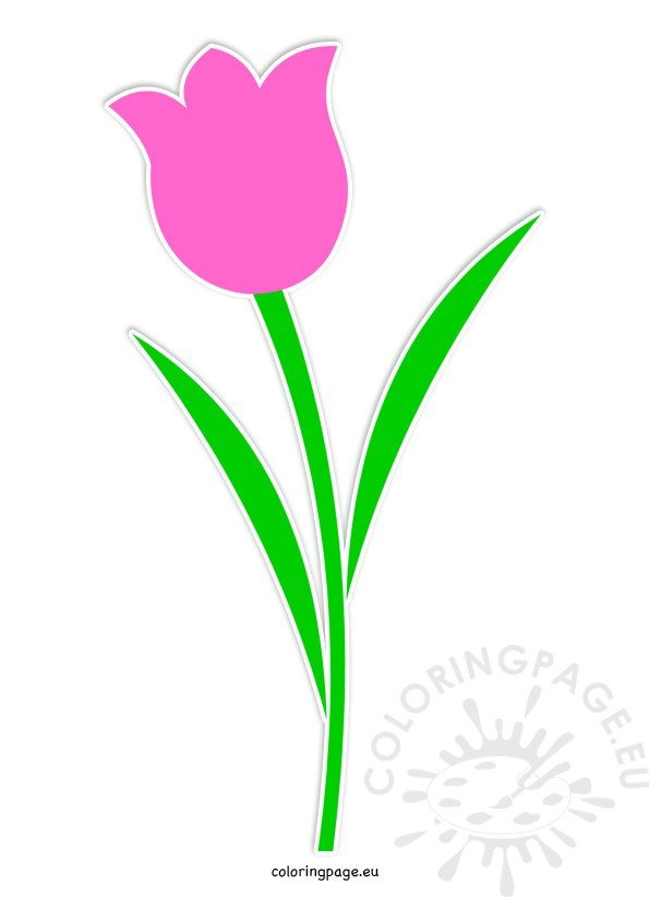 tulip-flower-printable
