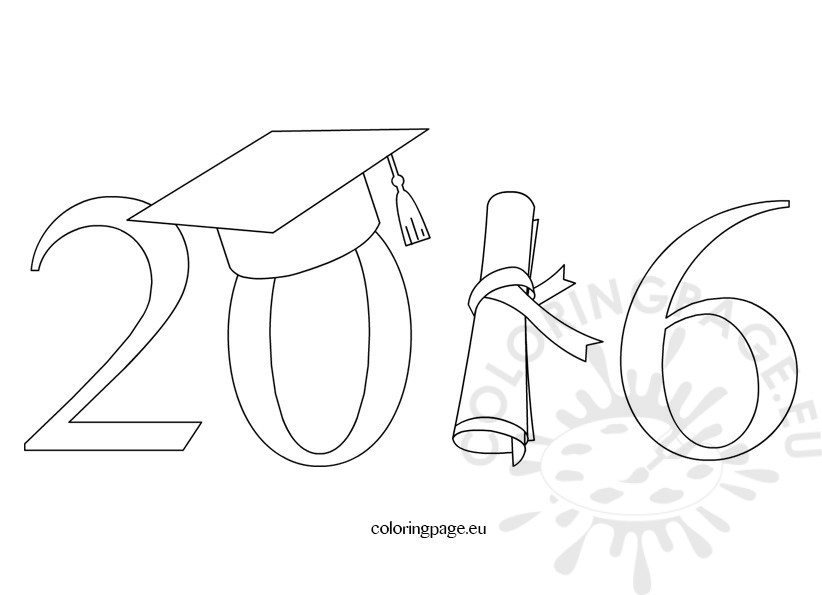 Clipart of graduation 2016