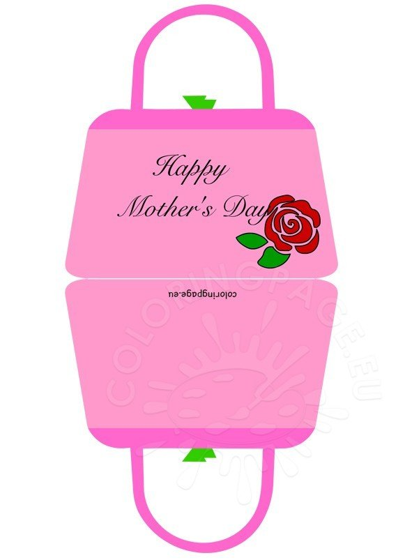 Happy Mother's Day card bag 2