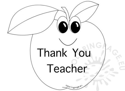 teacher appreciation week 2013 coloring pages | School - Coloring Page