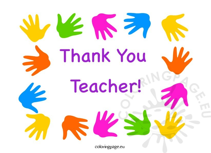 Teacher Appreciation Week Thank You Teacher Greeting Card