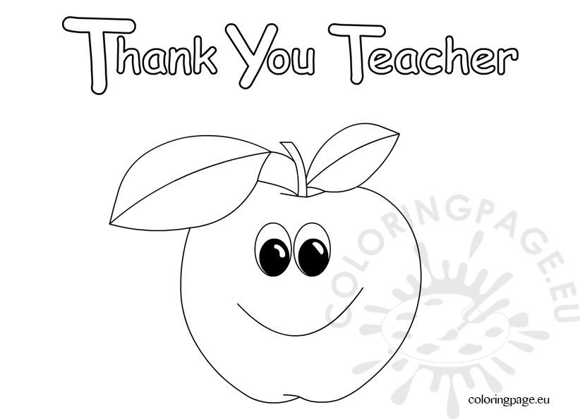 Thank You Teacher clip art