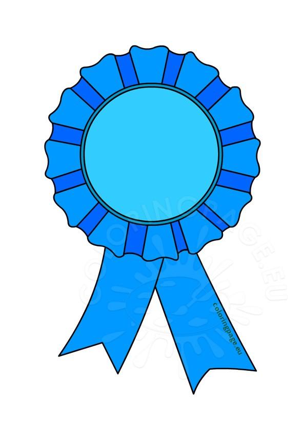Award rosette clip art