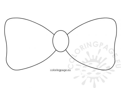 Coloring page for Bow coloring pages