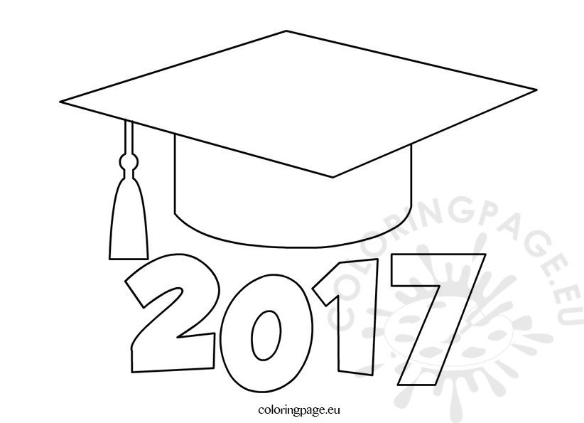 graduation cap coloring page printable car interior design G Is for Graduation  Coloring Graduation Cap