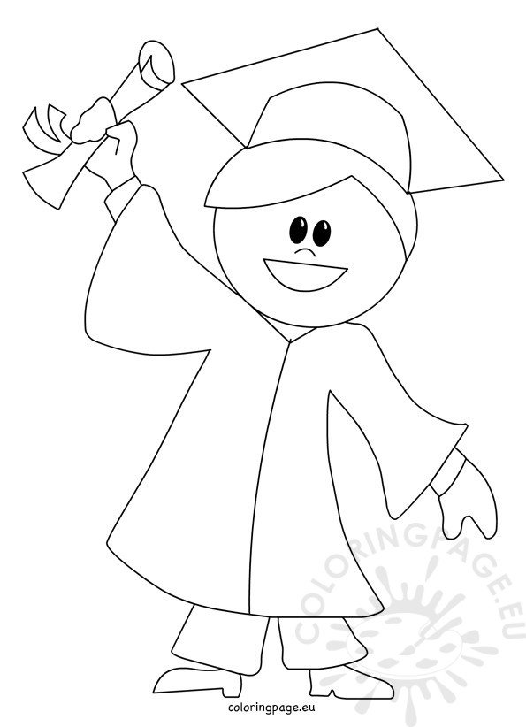 the gallery for  gt  graduation coloring page G Is for Graduation  Coloring Graduation Cap