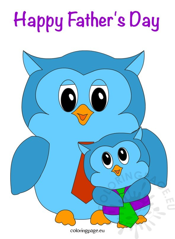 Father's Day Owls image