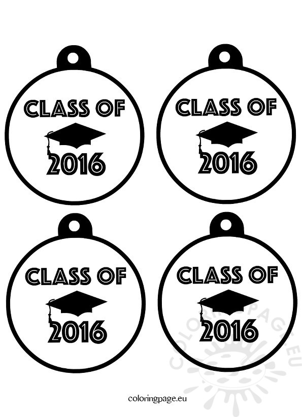 Graduation Medals Class 2016