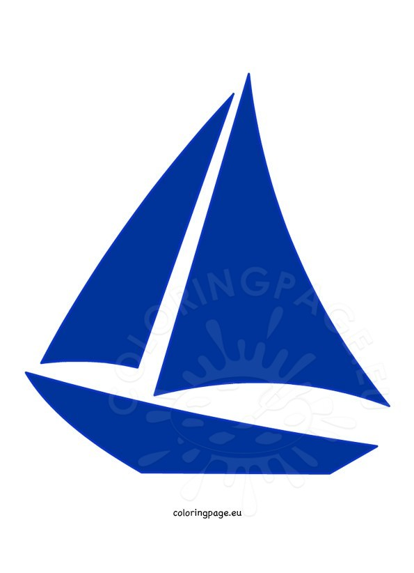 It's just a picture of Sailboat Template Printable throughout summer boat